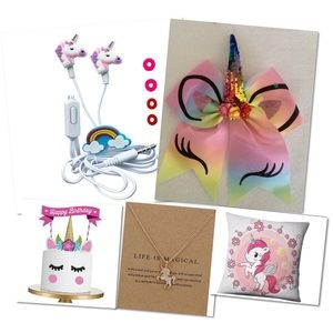Other - 😍🎈🦄Unicorn 🦄 gift 🎁 box 5 pieces